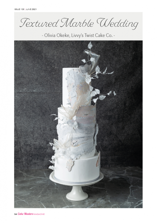Learn to make wedding cakes step-by-step