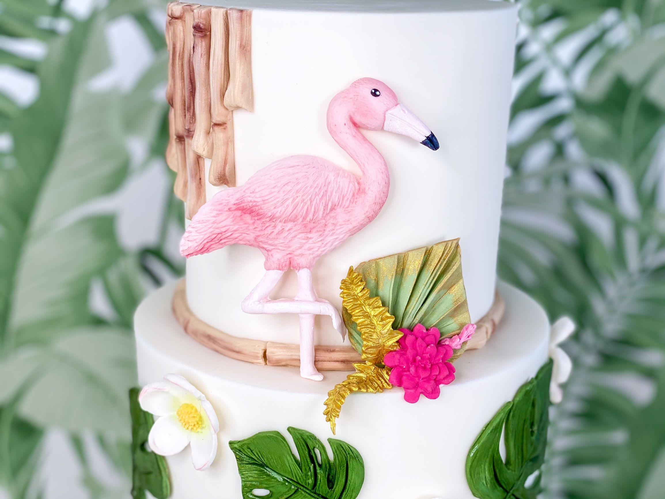 Mould a Flamingo in Pink Paste