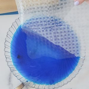 Soak Rice Paper Sheets for Waves