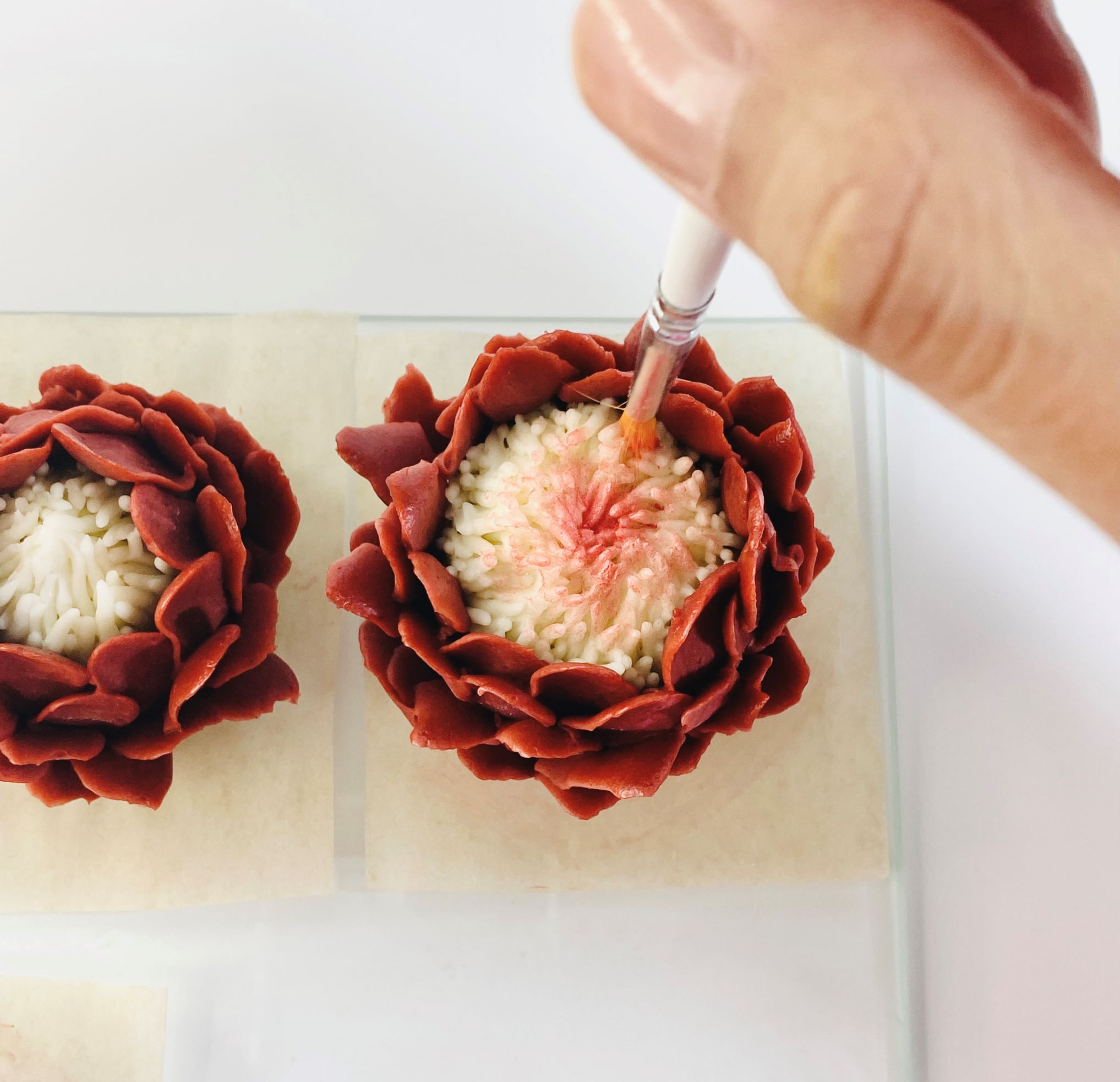 Craft Two Colour Flowers