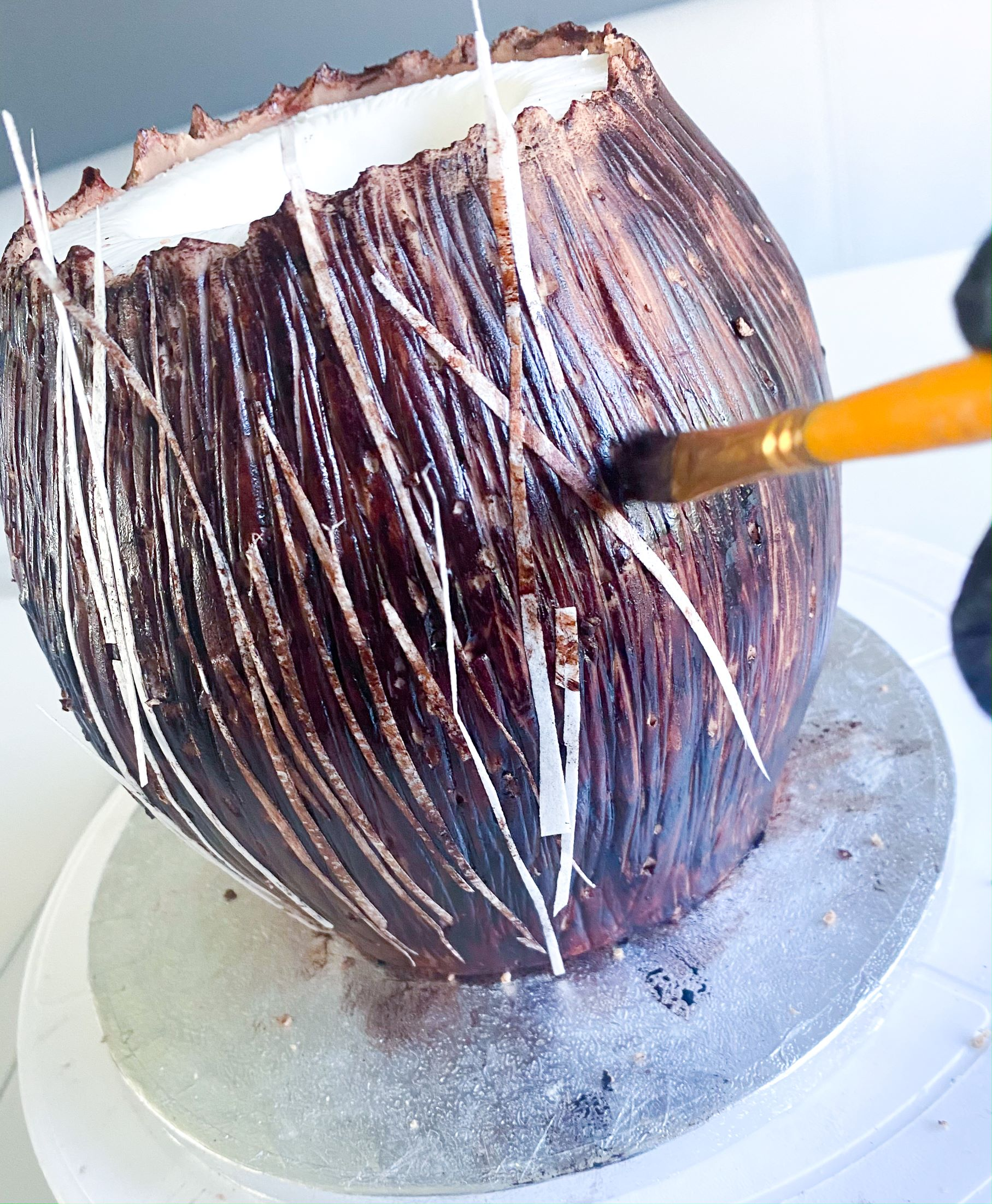 Use a Dresden Tool for a Coconut Shell