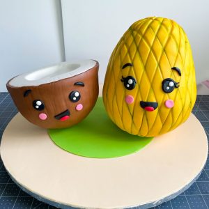 Make Some Fruity Friends from Cake!